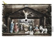 Holiday Christmas Manger Pa 01 Carry-all Pouch