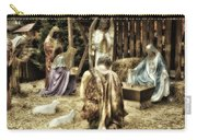 Holiday Christmas Manger Pa 02 Carry-all Pouch