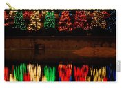 Holiday Evergreen Reflections Carry-all Pouch