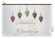 Holiday Greetings Merry Christmas Carry-all Pouch