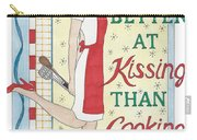 Holiday Kissing Cooking Carry-all Pouch
