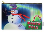 Holiday Top Hat Carry-all Pouch