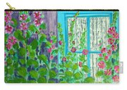 Hollyhock Surprise Carry-all Pouch