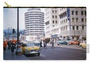 Hollywood And Vine California 1956 Carry-all Pouch