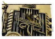 Hollywood And Vine Street Sign Collection Carry-all Pouch