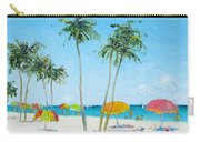 Hollywood Beach Florida And Coconut Palms Carry-all Pouch