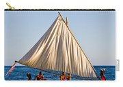 Holokai - Pacific Islander Sailing Canoe Carry-all Pouch