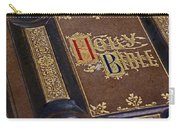 Holy Bible Carry-all Pouch