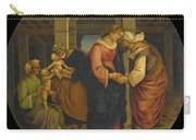 Holy Family With Saints John Elisabeth And Zacharias Carry-all Pouch