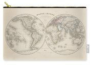 Homalographic World Map  Carry-all Pouch