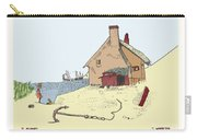 Home By The Sea Carry-all Pouch by Donna Munro