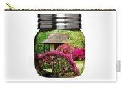 Home Flower Garden In A Glass Jar Art Carry-all Pouch