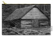 Home In The Woods Bw Carry-all Pouch