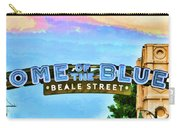Home Of The Blues - Beale Street Carry-all Pouch