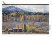 Home On The Gore Range Carry-all Pouch