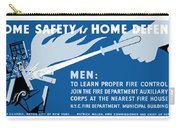 Home Safety Is Home Defense Carry-all Pouch by War Is Hell Store