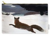 Homer Fox Hunt 1893 Carry-all Pouch