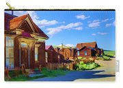 Homes Of The Past Carry-all Pouch
