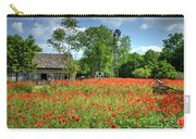 Homestead In The Poppies Carry-all Pouch