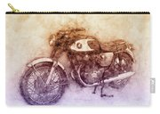 Honda Cb77 - Honda Motorcycles 2 - Motorcycle Poster - Automotive Art Carry-all Pouch