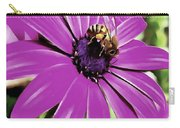Honey Bee On A Spring Flower Carry-all Pouch