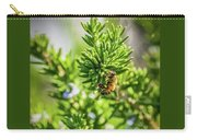 Honey Bee On Bush Carry-all Pouch