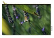 Honey Bee On Flower #4 Carry-all Pouch