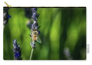 Honey Bee On Flower #5 Carry-all Pouch