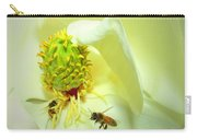 Honey Bees And Magnolia II Carry-all Pouch