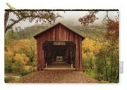 Honey Run Covered Bridge In Autumn Carry-all Pouch