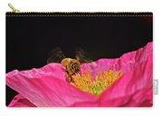 Honeybee In Flight 010 Carry-all Pouch