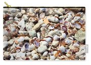 Honeymoon Island Shells Carry-all Pouch