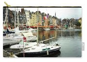 Honfleur Harbor 2 Carry-all Pouch