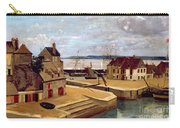 Honfleur  Houses On The Quay Carry-all Pouch