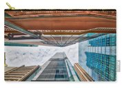 Hong Kong Buildings Colour Carry-all Pouch