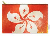 Hong Kong China Flag Carry-all Pouch by Setsiri Silapasuwanchai