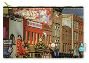 Honky Tonk Row - Nashville Tn Carry-all Pouch