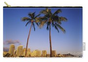 Honolulu And Palms Carry-all Pouch