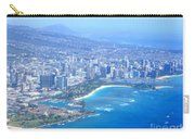 Honolulu And Waikiki From The Air Carry-all Pouch