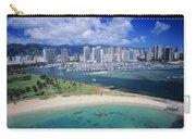 Honolulu, Oahu Carry-all Pouch