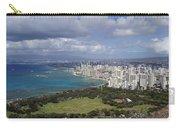 Honolulu Oahu Hawaii Carry-all Pouch