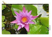 Honolulu Water Lily Carry-all Pouch
