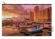 Honolulu Waterfront Oahu Carry-all Pouch