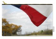 Honor The Texas Flag Carry-all Pouch