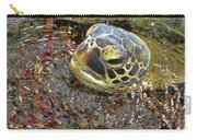 Honu In The Water Carry-all Pouch
