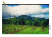 Hood River Oregon - Cloud Burst Over The Vineyard Carry-all Pouch