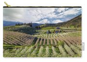 Hood River Pear Orchards On A Cloudy Day Carry-all Pouch