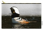 Hooded Merganser Maine Carry-all Pouch
