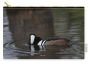 Hooded Merganser Preparing To Dive Carry-all Pouch