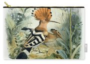 Hoopoe Carry-all Pouch by Edouard Travies